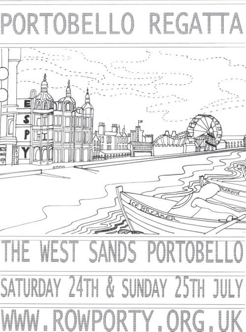 Portobello_regatta_poster