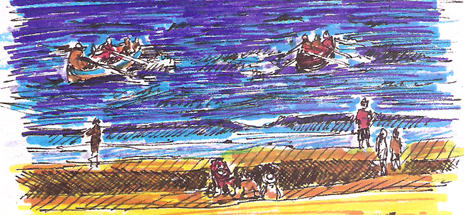 Portobello-regatta-sketch