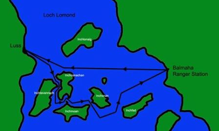 Loch Lomond itinery...