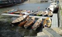 Skiffs in old harbour