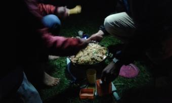 Feasting on Salmon Teriyaki
